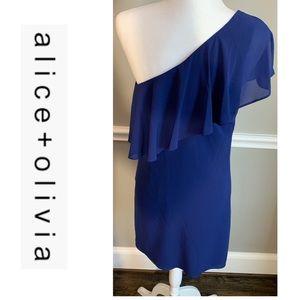 Alice + Olivia Casual Silk Dress
